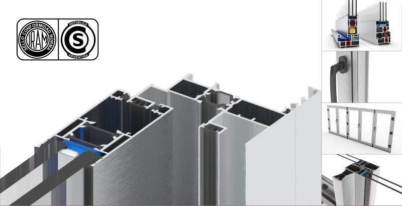 MDT ha obtenido en todos sus perfiles de aluminio para sistemas de carpintería y productos industriales
